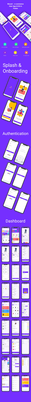 BizCart - Multi vendor e-commerce Flutter Full App UI Kit - 2