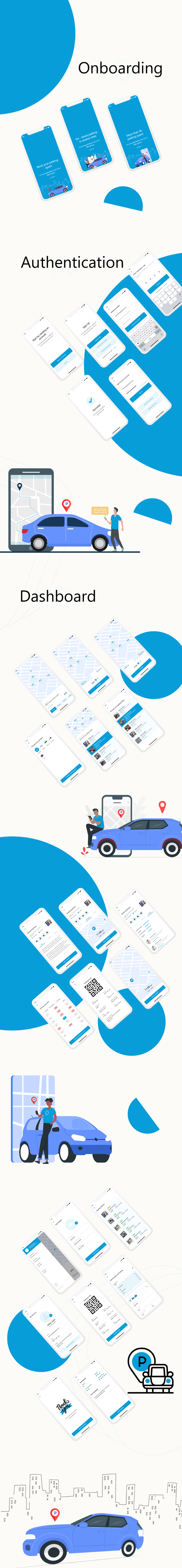 Parkline - Biggest Smart Parking Finder Flutter Full App UI Kit - 2